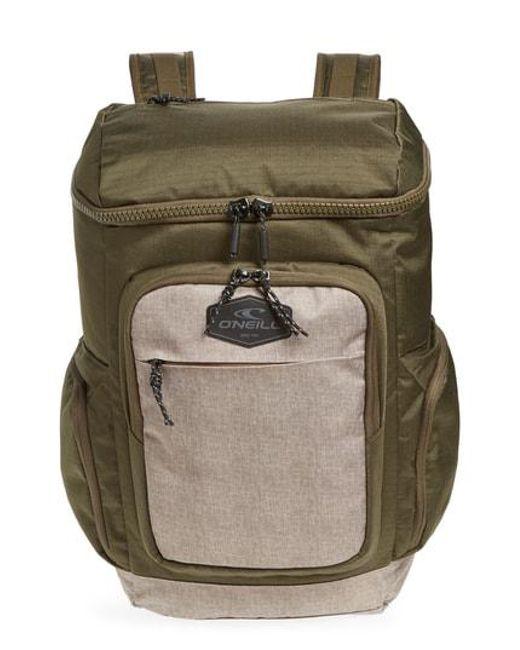 O'neill Sportswear - Green Quest Backpack - Lyst