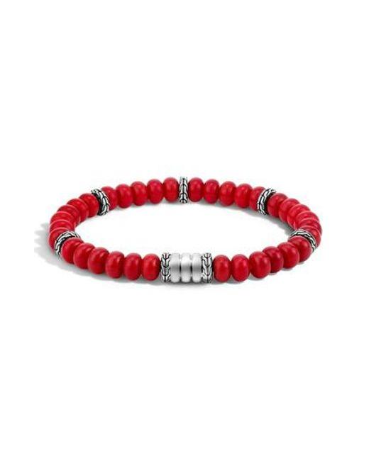 John Hardy - Multicolor Heritage Bedeg Beaded Bracelet - Lyst