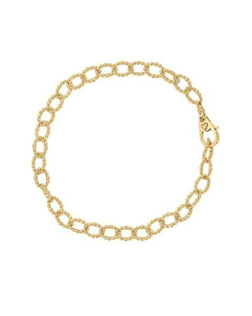 Lagos - Metallic Caviar Link Bracelet - Lyst