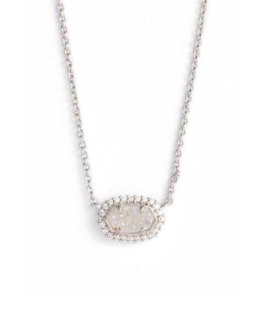 Kendra Scott | Metallic Chelsea Pendant Necklace | Lyst