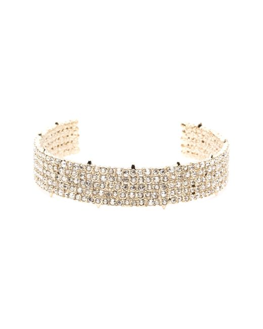 Alexis Bittar - Metallic Crystal Lace Cuff Bracelet You Might Also Like - Lyst