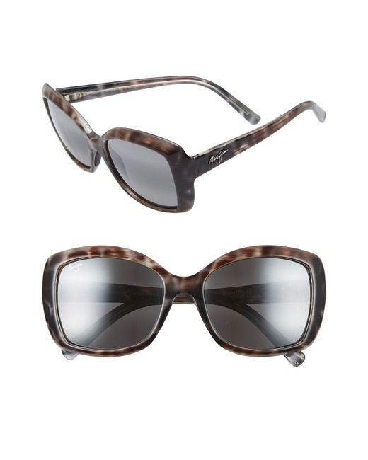 Maui Jim - Gray Orchid 56mm Polarizedplus2 Sunglasses - Lyst