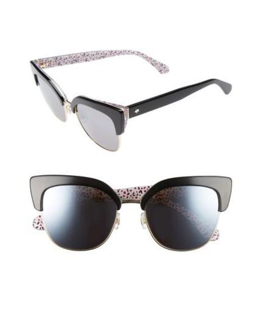 Kate Spade | Black Karri 53mm Sunglasses | Lyst