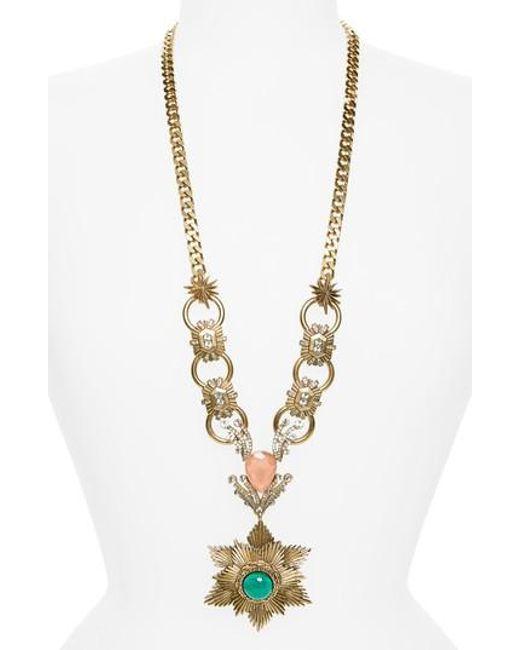Loren Hope | Metallic Gloria Pendant Necklace | Lyst