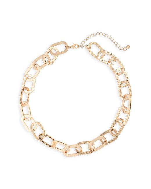 Panacea - Metallic Chain Link Necklace - Lyst