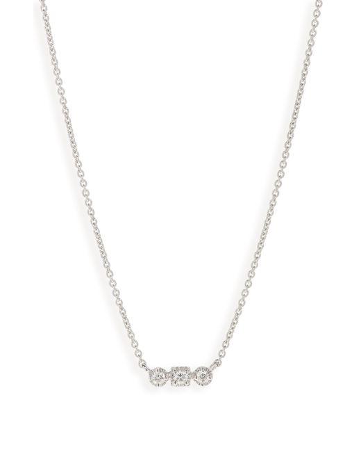 Bony Levy - Metallic Maya 3-stone Horizontal Necklace (nordstrom Exclusive) - Lyst