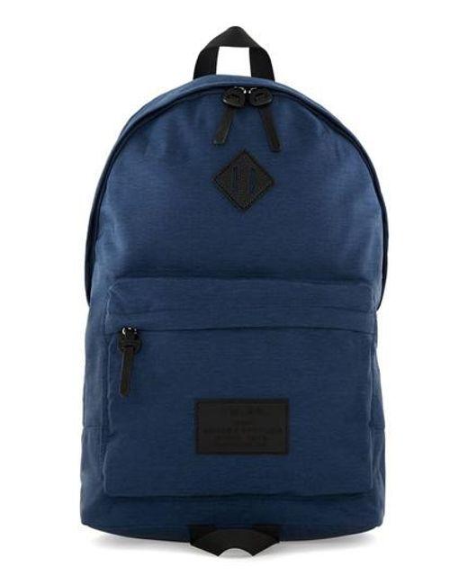 Topman | Blue Ripstop Backpack for Men | Lyst