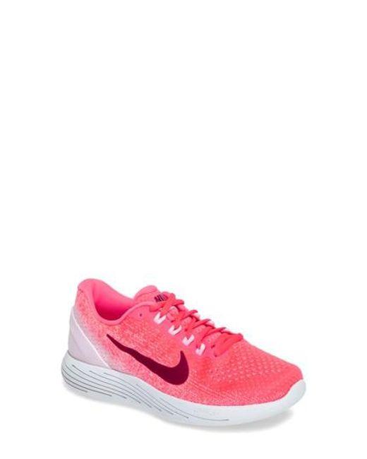 Nike | Pink Lunarglide 9 Running Shoe | Lyst
