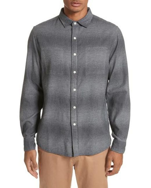 Saturdays NYC | Gray Laslo Ombre Woven for Men | Lyst