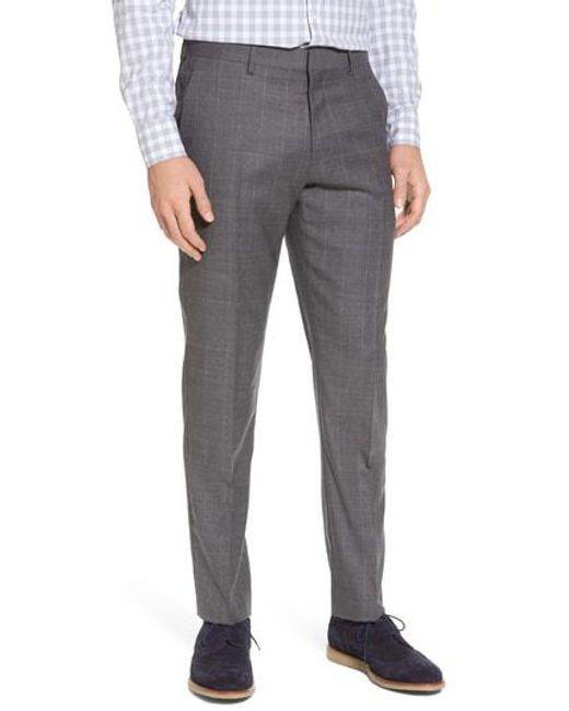J.Crew - Gray Ludlow Wool Blend Pants for Men - Lyst