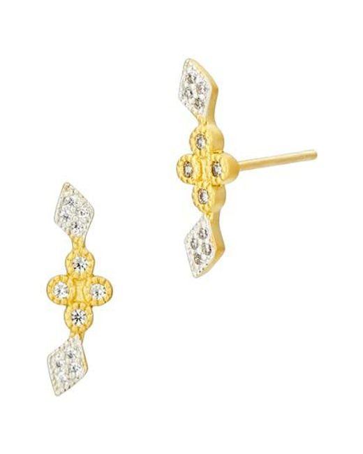 Freida Rothman | Metallic Visionary Fusion Stud Earrings | Lyst