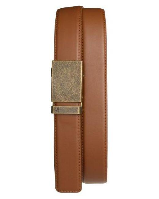 Mission Belt - Brown 'bronze' Leather Belt for Men - Lyst