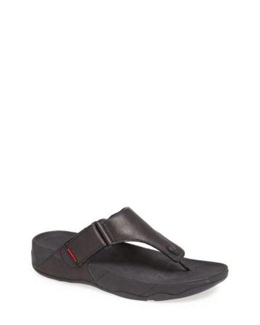 Fitflop - Black Trakk(tm) Ii Sandal for Men - Lyst