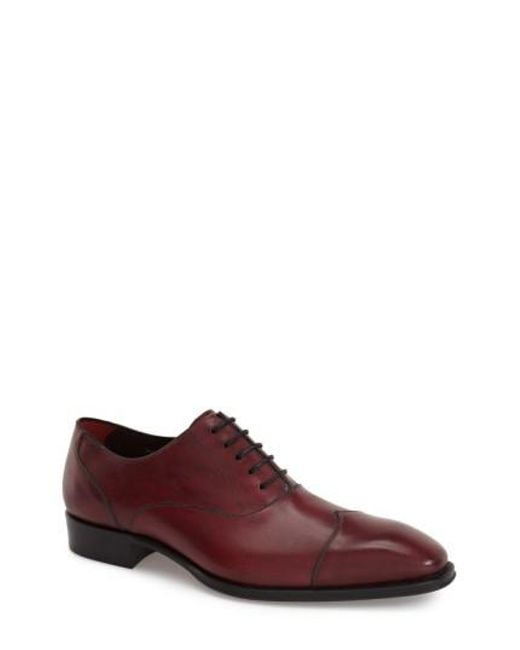 Mezlan | Purple 'toulouse' Cap Toe Oxford for Men | Lyst