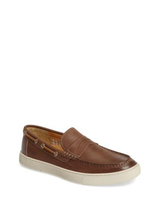 Sperry Top-Sider   Brown Gold Cup Penny Loafer for Men   Lyst