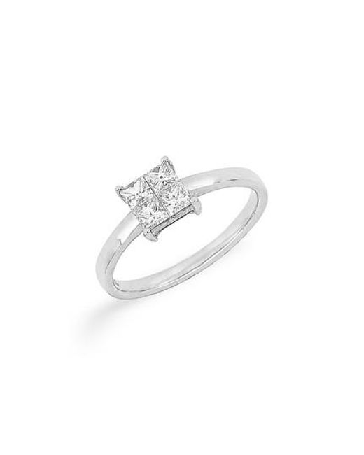 Bony Levy | Multicolor Princess Cut Diamond Ring (nordstrom Exclusive) | Lyst