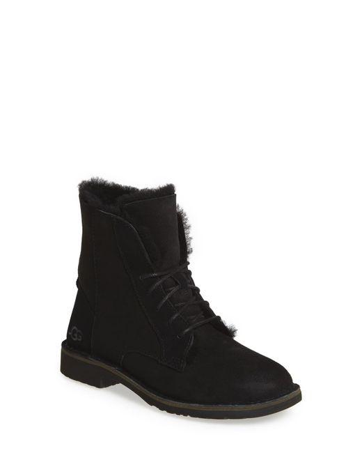 Ugg - Black Ugg Quincy Boot - Lyst