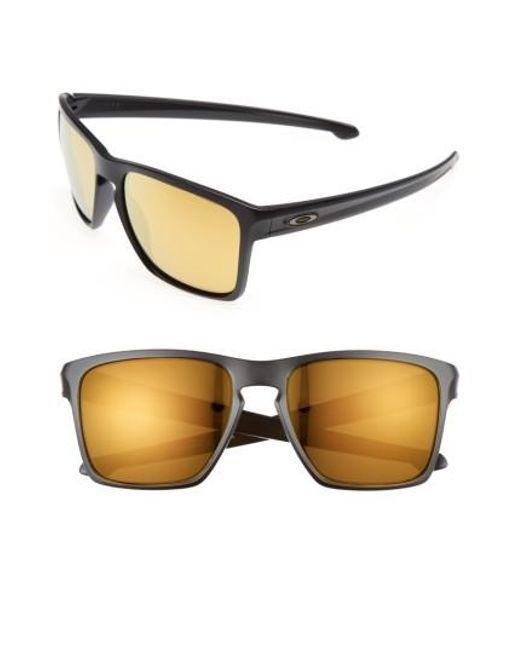 Oakley | Metallic Silver Xl 57mm Sunglasses | Lyst