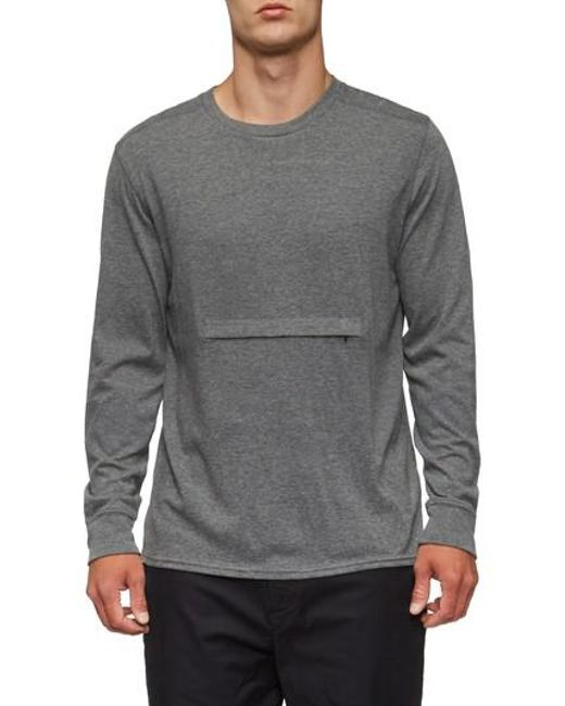 Tavik | Gray Lowell Long Sleeve T-shirt for Men | Lyst