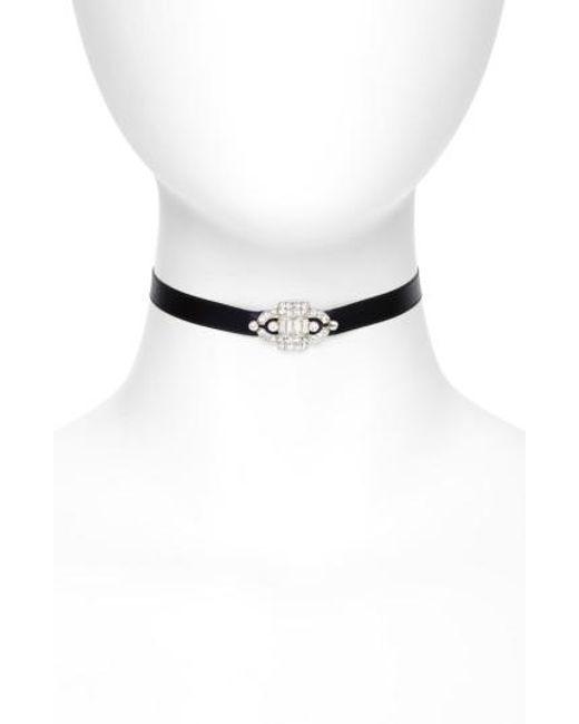 Ben-Amun - Multicolor Deco Satin Choker Necklace - Lyst