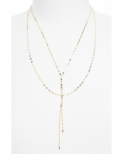 Lana Jewelry | Yellow 'blake' Lariat Necklace | Lyst