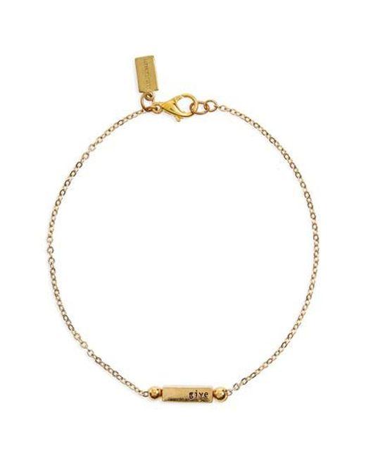 Half United   Metallic Florence Bracelet   Lyst