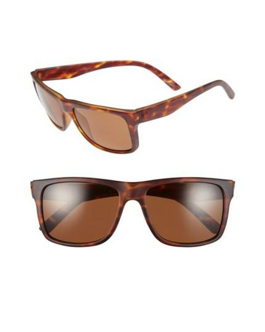 Electric   Brown 'swimgarm' 57mm Polarized Sunglasses   Lyst