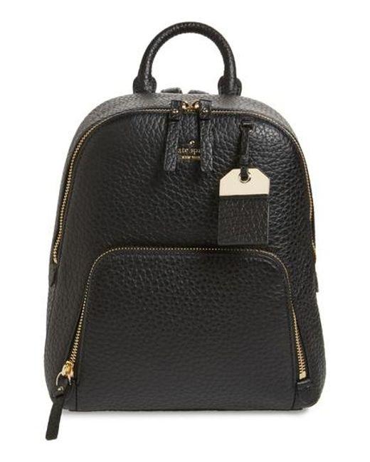 Kate Spade | Black Carter Street - Caden Leather Backpack | Lyst