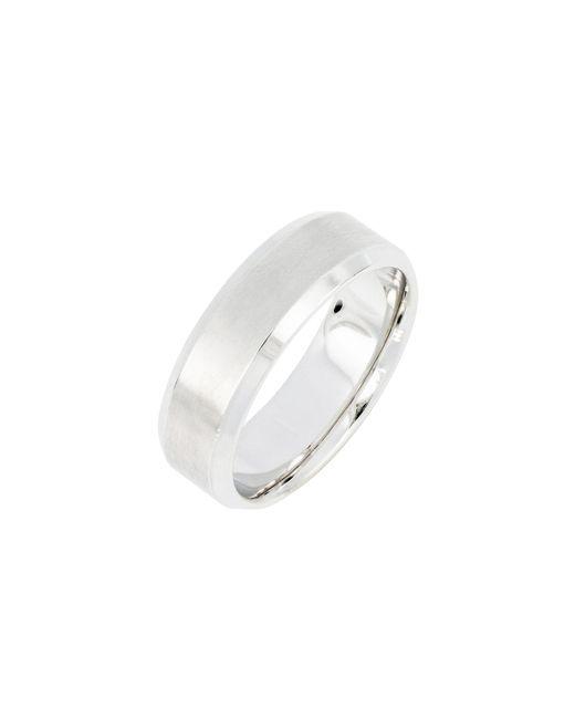 Bony Levy - Metallic Beveled Ring (nordstrom Exclusive) for Men - Lyst