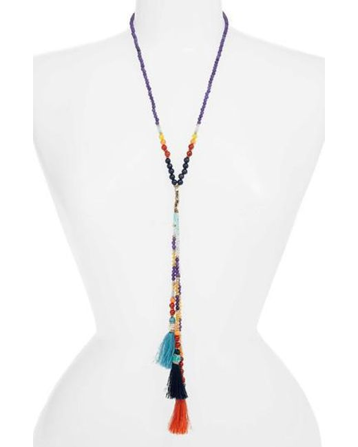 Nakamol - Multicolor Tassel Y-necklace - Lyst