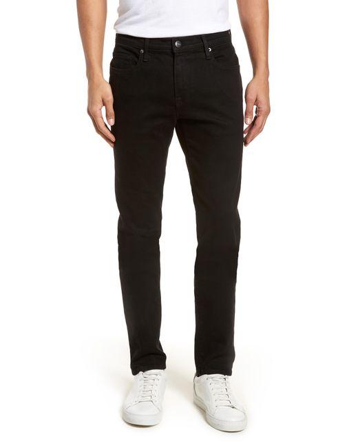 FRAME - Black 'l'homme' Skinny Fit Jeans for Men - Lyst