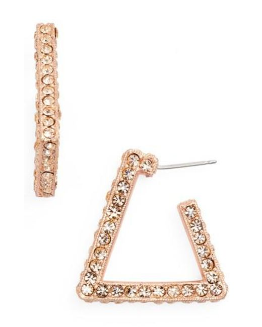 Loren Hope | Metallic Bailey Hoop Earrings | Lyst