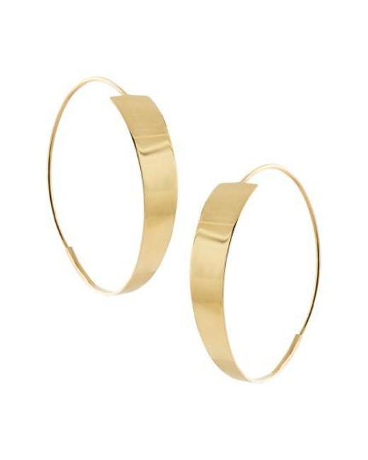 Lana Jewelry | Metallic Bond Small Magic Hoop Earrings | Lyst