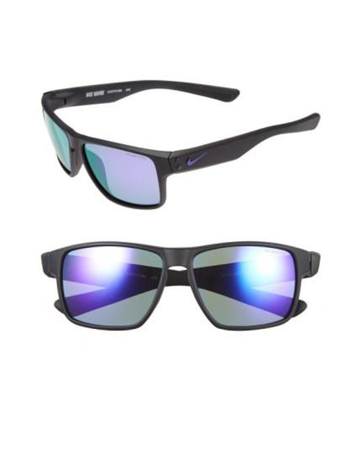 Nike | Black 'mavrk' 59mm Sunglasses | Lyst