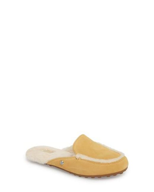 Ugg - Multicolor Ugg Lane Genuine Shearling Slipper - Lyst