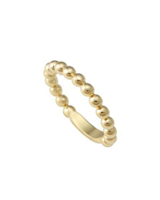Lagos - Metallic Caviar Stack Ring - Lyst