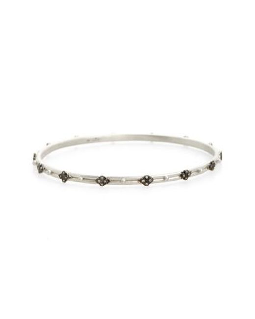 Armenta | Metallic New World Cravelli Diamond Bangle | Lyst