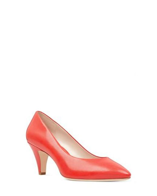 Nine West - Red Faith Pump - Lyst