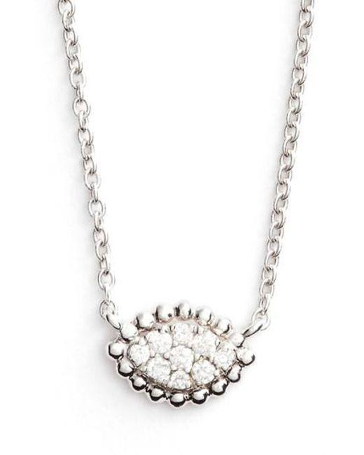 Bony Levy | Metallic Diamond Pendant Necklace (nordstrom Exclusive) | Lyst
