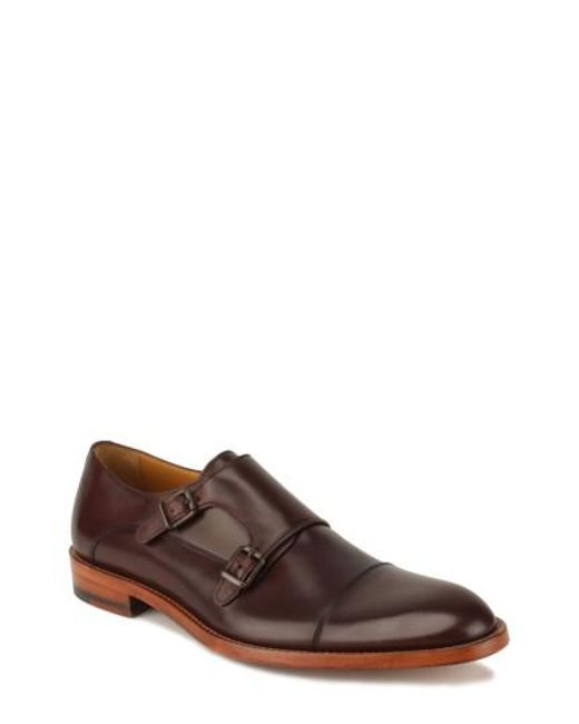 Gordon Rush | Brown Jay Double Monk Strap Shoe for Men | Lyst