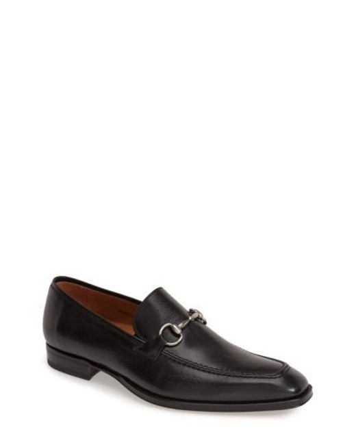 Mezlan - Black 'tours' Leather Bit Loafer for Men - Lyst