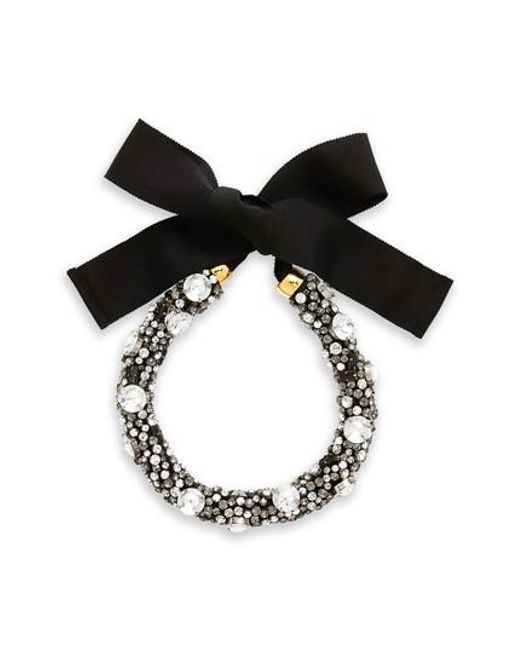 Lizzie Fortunato | Black African Sky Crystal Collar Necklace | Lyst