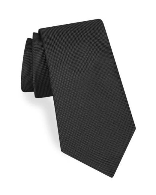 Ted Baker | Black Solid Silk Tie for Men | Lyst