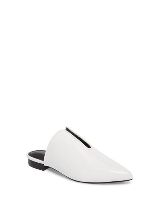 Jeffrey Campbell | White Cleos Mule | Lyst