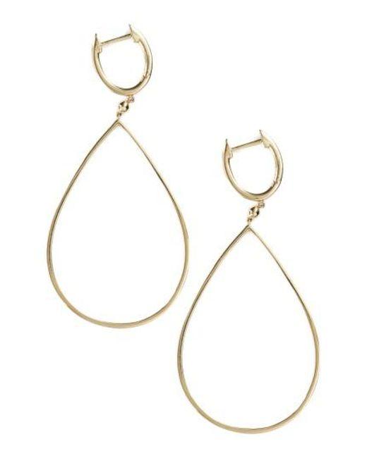 Bony Levy   Metallic Geo Teardrop Earrings (nordstrom Exclusive)   Lyst