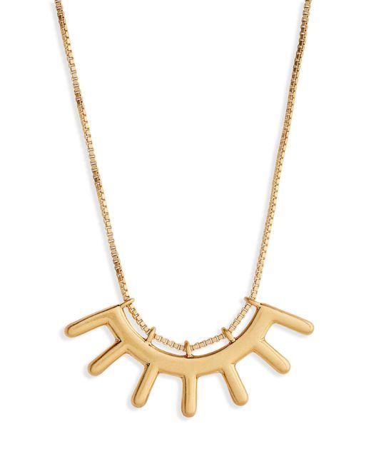 Madewell - Metallic Succulent Pendant Necklace - Lyst