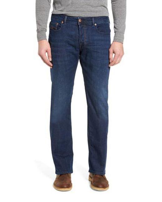 DIESEL   Blue Diesel Zatiny Bootcut Jeans for Men   Lyst