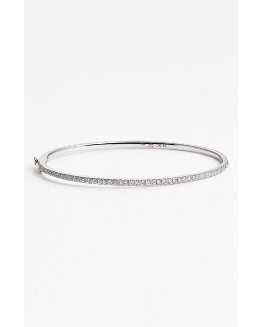 Kwiat - Metallic Diamond Bangle Bracelet - Lyst