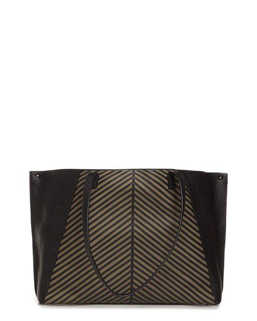 Akris - Black Medium Ai Leather Tote - Lyst