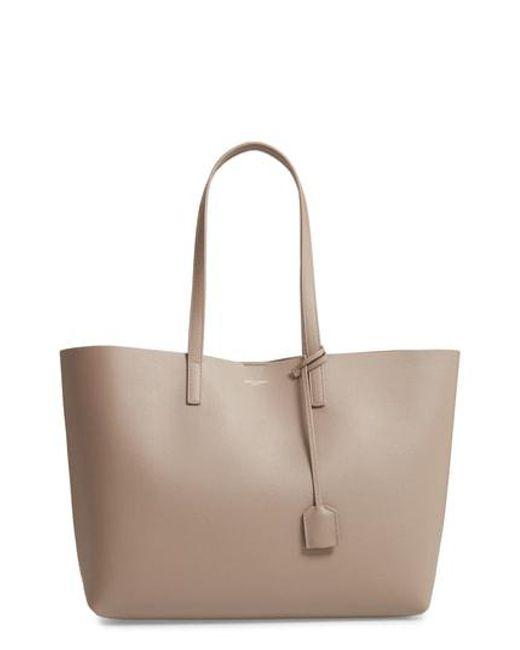 Saint Laurent - Multicolor  shopping  Leather Tote - Lyst 92979dc19d793